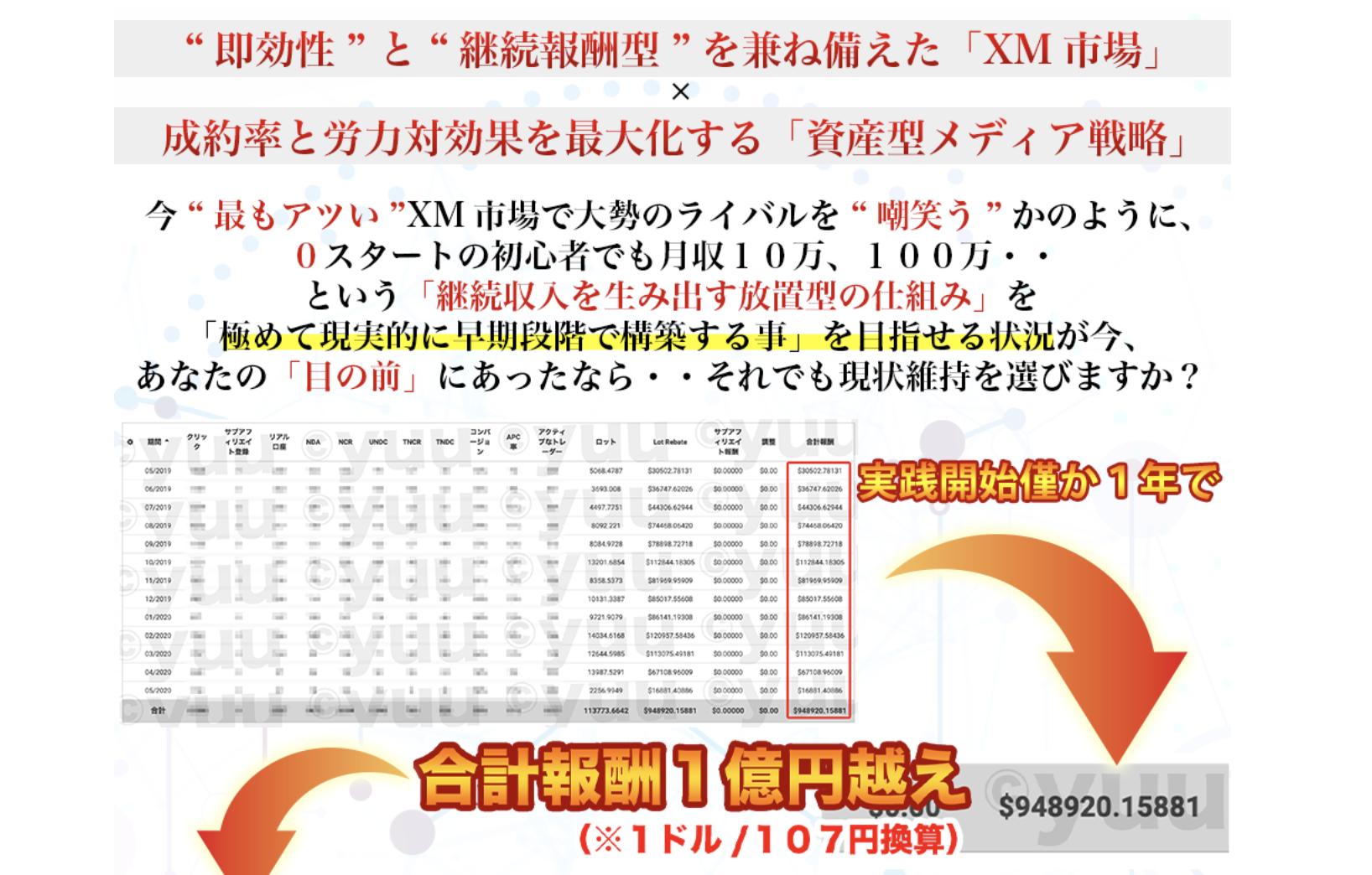 【不労収入?】yuuさんのXMアフィリエイト攻略プロジェクトを初心者向けに解説してみた。
